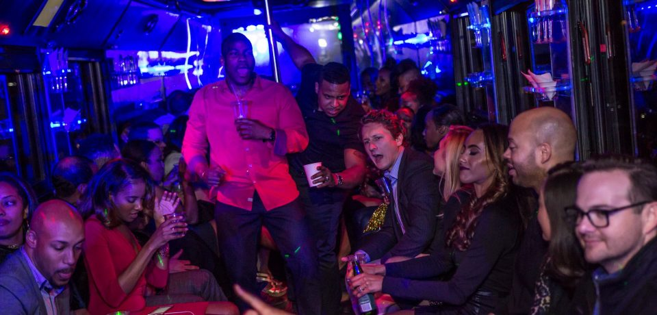 Assigning a Picture Taker During a Party Bus Ride